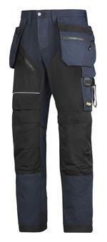 4e1844af Bukse 6202 mørkblå/sort str 148 Ruffwork m/hylsterlommer